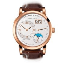 A. Lange & Söhne Lange 1 Rose gold 38.5mm Silver United States of America, New York, New York