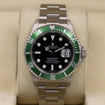 Rolex 16610LV Steel 2004 Submariner Date 40mm pre-owned