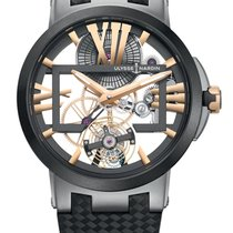 Ulysse Nardin Executive Skeleton Tourbillon new Watch with original box and original papers 1713-139/02-BQ