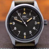 IWC Pilot Mark 40mm Black Arabic numerals United States of America, Massachusetts, Boston