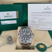 Rolex Explorer II Otel 42mm Negru Fara cifre