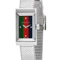 Gucci Acero 14mm Cuarzo YA147510 nuevo