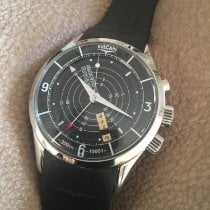 Vulcain Nautical Steel 42mm Black