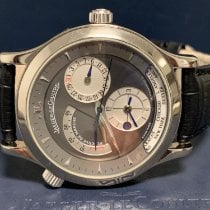 Jaeger-LeCoultre Master Geographic folosit 38mm Gri Piele