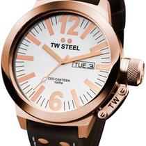 TW Steel 钢 50,00mm 石英 TWCE1018 全新