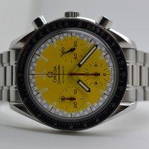 Omega Speedmaster Reduced Chronograph Schumacher Yellow