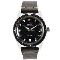 Zenith S.58 Diver's Vintage Sport watch
