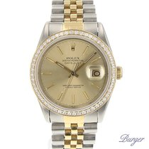 Rolex Datejust 36 Steel/Gold Diamonds