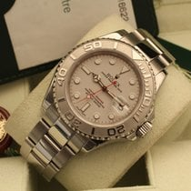Rolex Yacht-Master rolesium 40 mm platinum box papers yachtmaster
