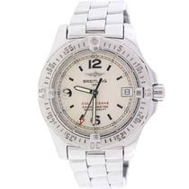 Breitling Colt Oceane Ladies 33MM Factory Silver Stick Dial...