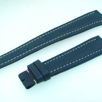 Breitling Band 19mm Blue Azul Calf Strap Ib19-06