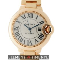 Cartier Ballon Bleu 33mm new Automatic Watch with original box and original papers W6920096