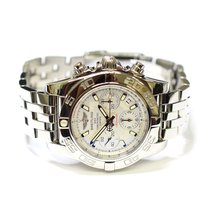 Breitling Chronomat 41mm Stainless Steel Mens Watch AB0140