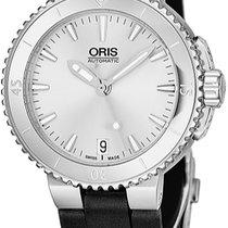 Oris Aquis Date Steel Silver United States of America, New York, Brooklyn