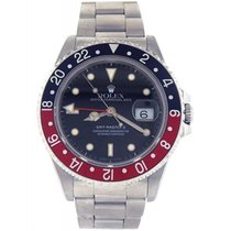 Rolex Gmt-Master II 16710 Pepsi Mens Watch Box Papers