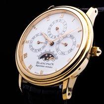 Blancpain Villeret 18kt. Gold Minutenrepetition Ewiger...