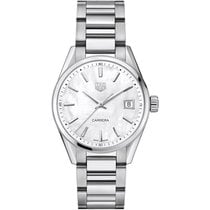 TAG Heuer Carrera Lady Steel Silver Roman numerals