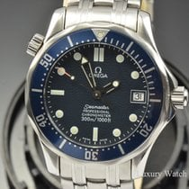 Omega Seamaster Diver 300 M 36MM Automatic Blue Wave Dial Watch