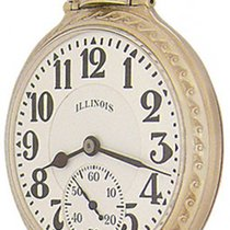 Illinois White gold Manual winding pre-owned