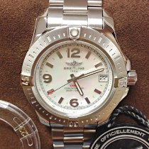 Breitling Colt 36 Steel 36mm Mother of pearl Arabic numerals