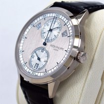 Patek Philippe Annual Calendar White gold 40.5mm Silver United States of America, Florida, Boca Raton