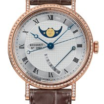 Breguet new Automatic Power Reserve Display 36mm Rose gold Sapphire crystal