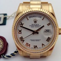 Rolex Day-Date 36 nuevo 2006 Automático Reloj con estuche y documentos originales 118238