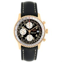 Breitling Old Navitimer Yellow gold 41.5mm Silver Arabic numerals United States of America, Georgia, Atlanta