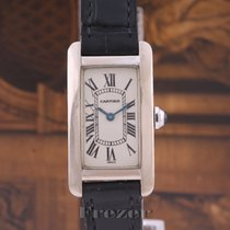 Cartier 1713 White gold Tank Américaine 35mm pre-owned