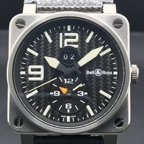 Bell & Ross BR03-51GMT Titanium 2010 BR 03-51 GMT 42mm pre-owned