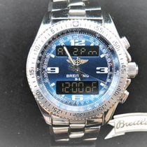 Breitling Steel 44mm Quartz A68362 pre-owned