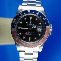Rolex GMT-Master Stahl 40mm Schwarz Keine Ziffern Schweiz, Roveredo