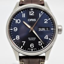 Oris Big Crown ProPilot Day Date Acier 45mm Bleu Arabes