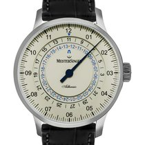 Meistersinger Steel 43mm Automatic AD903C new United States of America, New Jersey, Cresskill