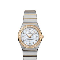 Omega Constellation Quartz Gold/Steel 27mm Mother of pearl