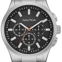 Nautica Steel Quartz NAI19532G new
