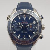 Omega 232.92.46.51.03.001 Acier 2014 Seamaster Planet Ocean Chronograph 45.5mm occasion