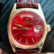 Rolex Day-Date 36 Gelbgold 36mm Rot Keine Ziffern Deutschland, Muenchen
