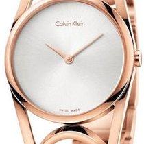 ck Calvin Klein Gold/Steel 33mm Quartz new
