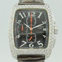 Locman Sport Tonneau Aluminum 36mm Black Arabic numerals
