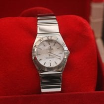 Omega Constellation Ladies Watch 24mm 12310246005002 Steel...