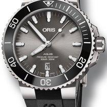 Oris Aquis Titanium Date Steel 43.5mm Grey No numerals United States of America, Texas, FRISCO