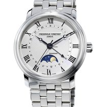 Frederique Constant Classics Moonphase new Automatic Watch with original box and original papers FC-330MC4P6B