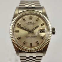 Rolex Oyster Perpetual Datejust Ref. 1601 Wide Boy Dial