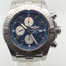 Breitling Super Avenger Acier 48mm Bleu Arabes France, Paris