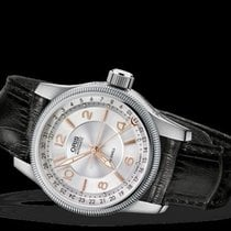 Oris Men's Big Crown Pointer Automatic Silver Dial 40mm Men's...