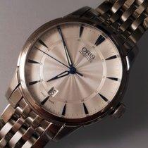 Oris Artelier Date nuevo Automático Reloj con estuche y documentos originales 01 733 7670 4031-07 8 21 77
