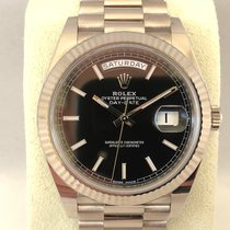 Rolex Day-Date 40 228239 White Gold ( Like new )