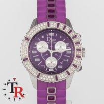Dior Reloj de dama Christal 38mm Cuarzo usados Reloj con estuche y documentos originales