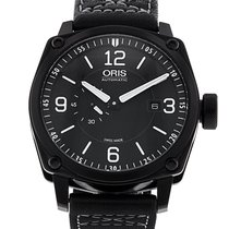 Oris 43.5mm Automatic 2017 pre-owned BC4 Black